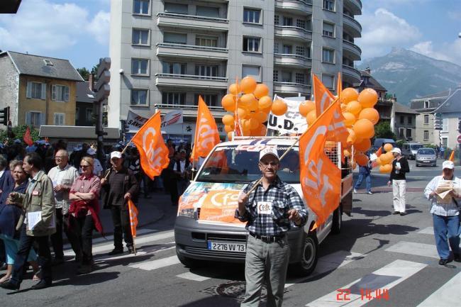 Manifestation pour les retraites 22/05