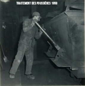 Traitement des poussières 1959