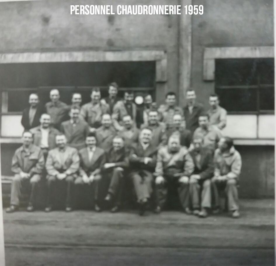 Maintenance Chaudronnerie 1959