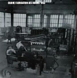 Atelier de fabrication de Fûts 1953