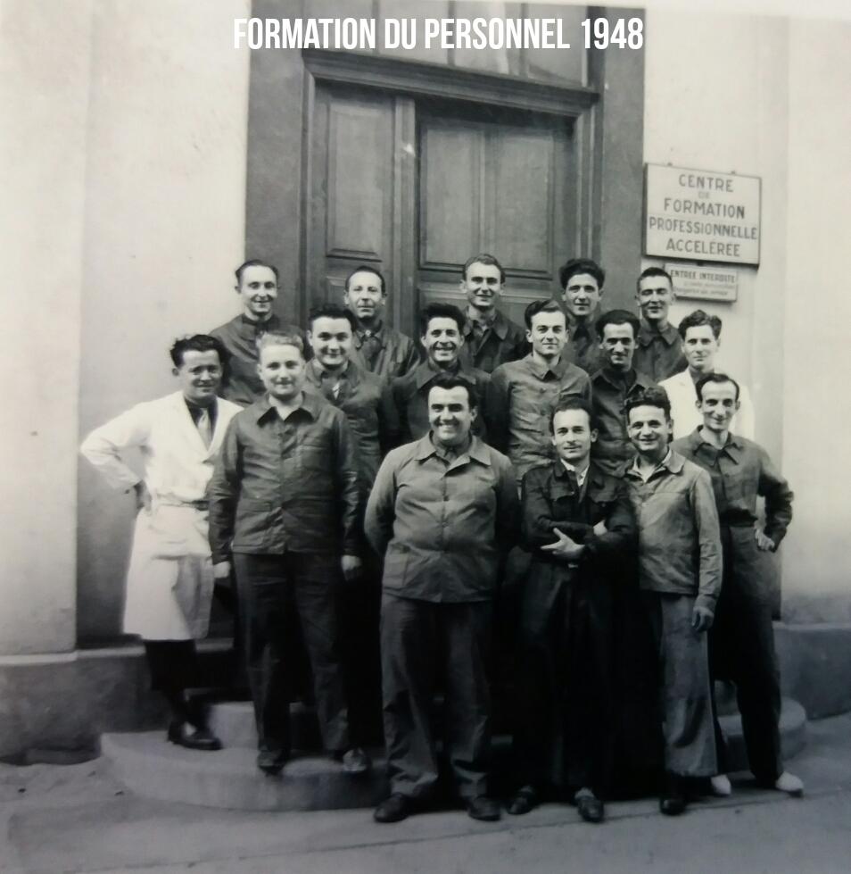 Formation du personnel 1948