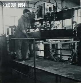 Maintenance Soudeur 1954