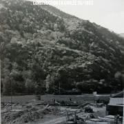 Construction de la coulée Mai 1965