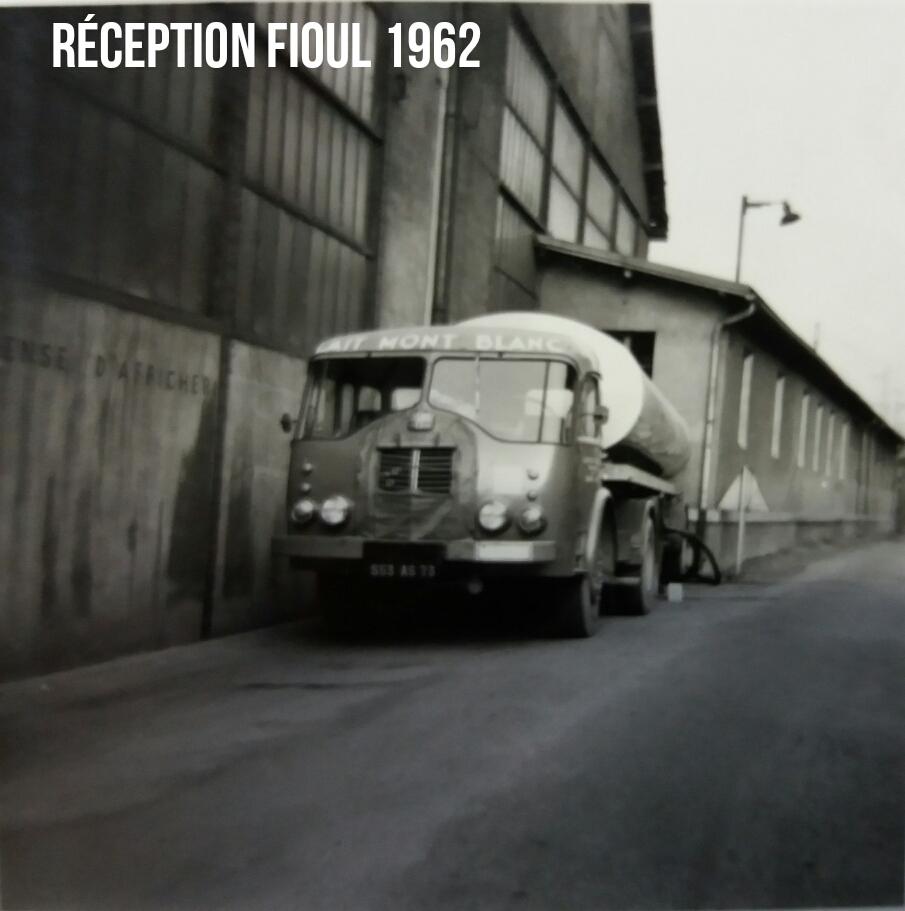 Réception de Fioul 1962