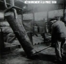 Défournement d'Anode 1959