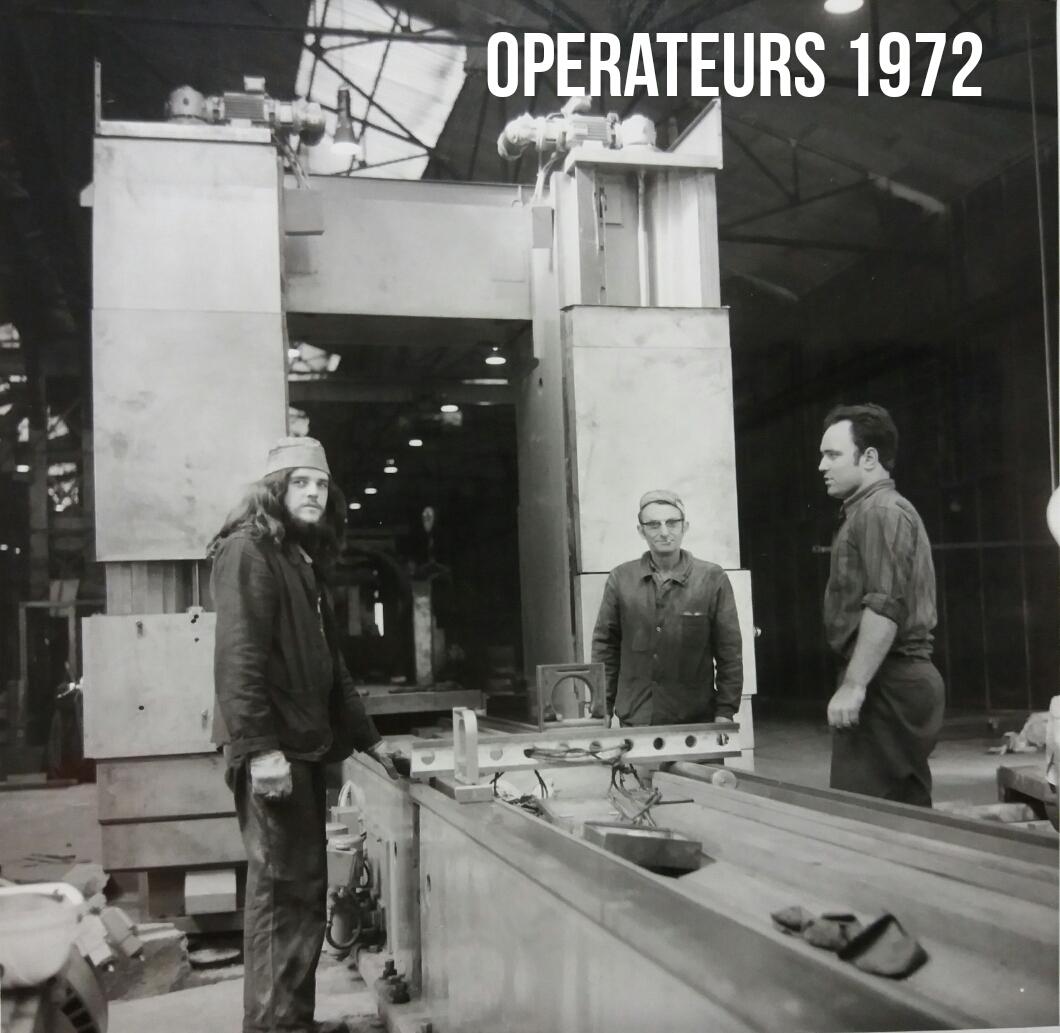 Usinage Fraiseur 1972