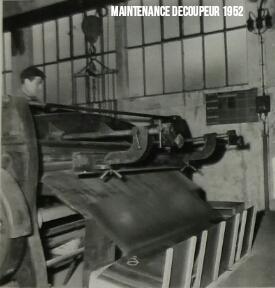 Maintenance Découpeur 1952