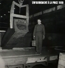 Enfournement Cathode 1959