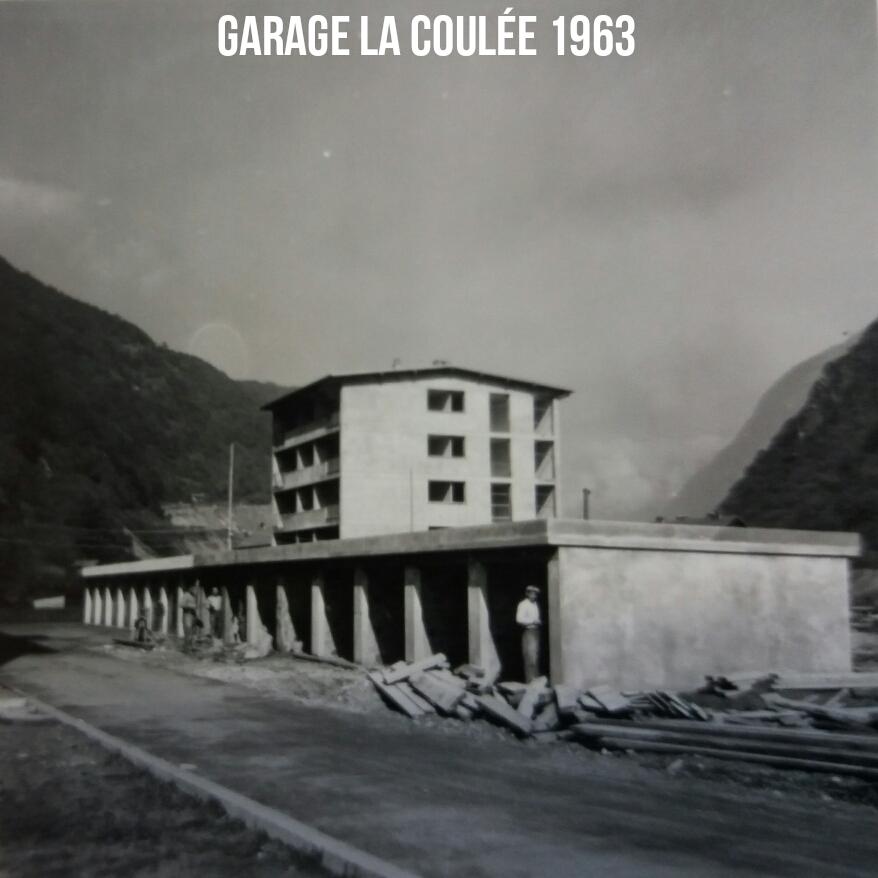 """Garage la coulée 1963 """"SERS"""""""