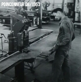 Maintenance Poinçonneur 1953