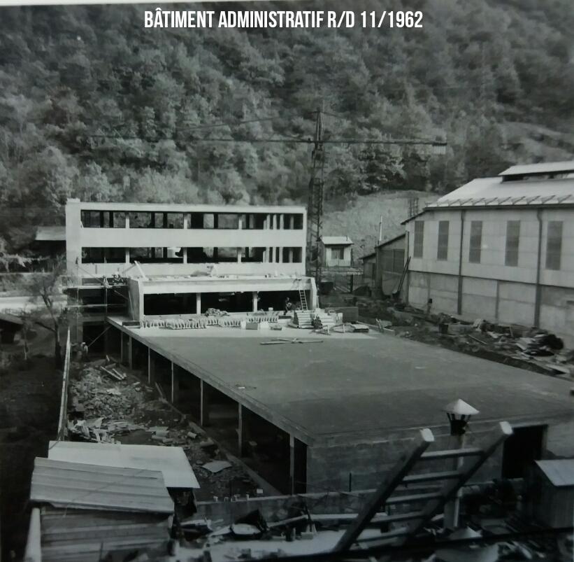 Batiment Administratif  R/D 1962