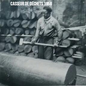 Casseur de déchets 1958