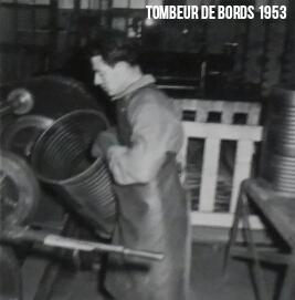 Fabrication de Fûts 1953