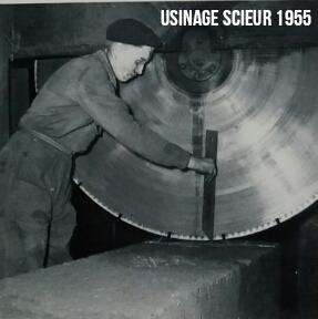 Usinage Scieur 1955