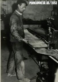 Maintenance Poinçonneur 1953