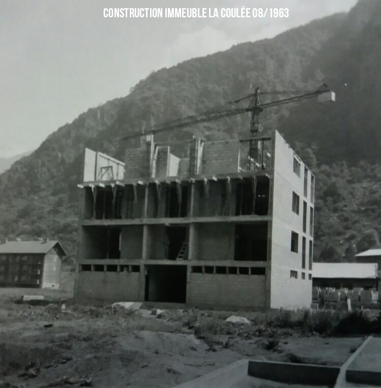 Immeuble la coulée Aout 1963