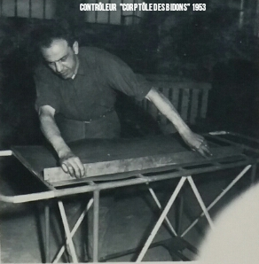 Maintenance Chaudronnier 1953