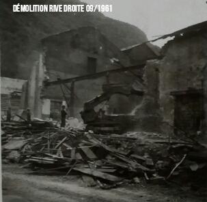 Démolition R/D 1961