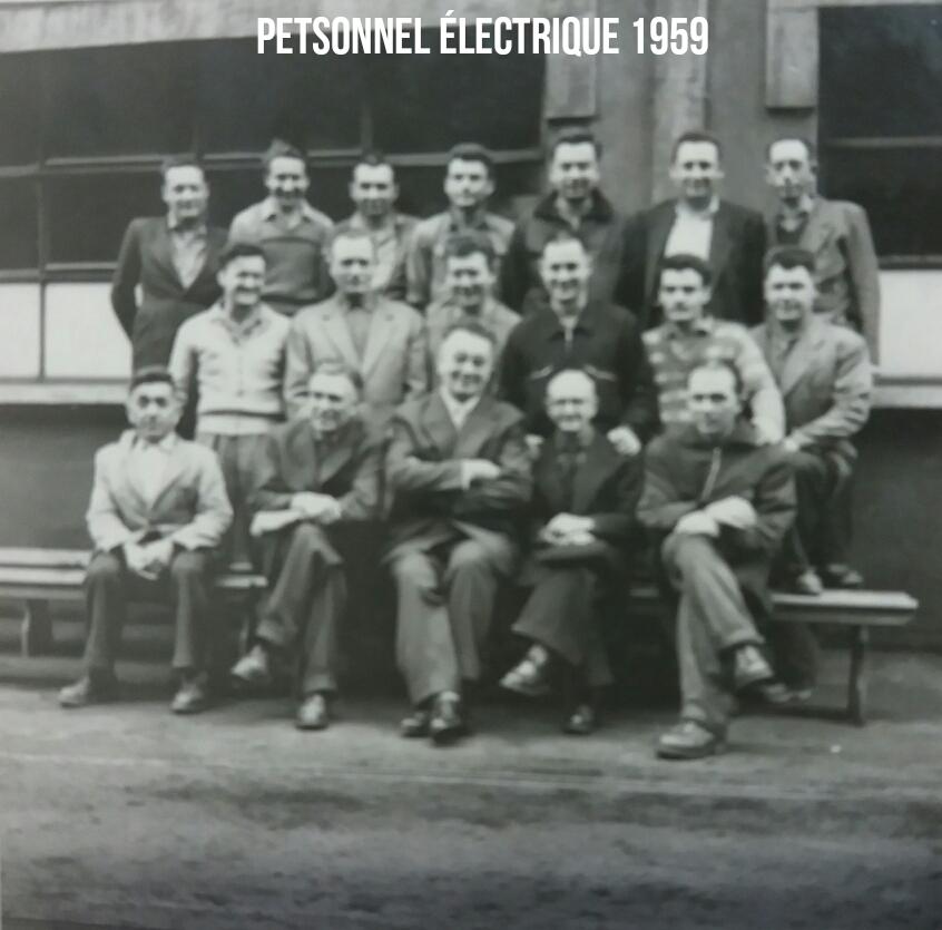 Maintenance Electrique 1959