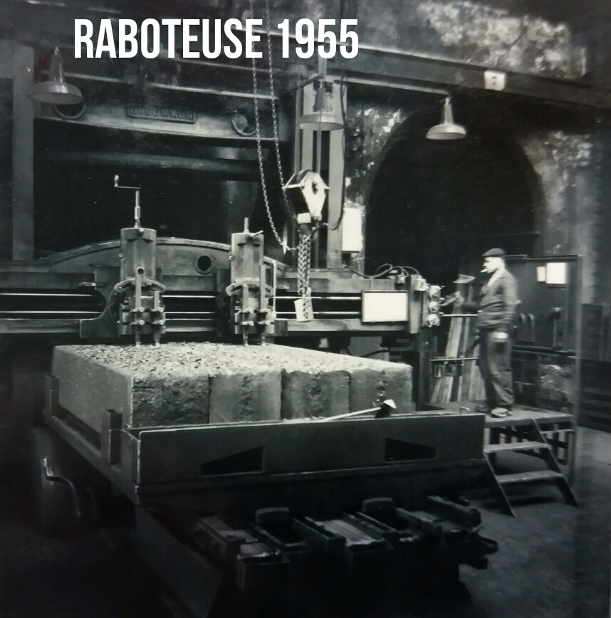 Usinage Raboteur 1955