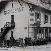 Restaurant de l'Eau Rousse 1910