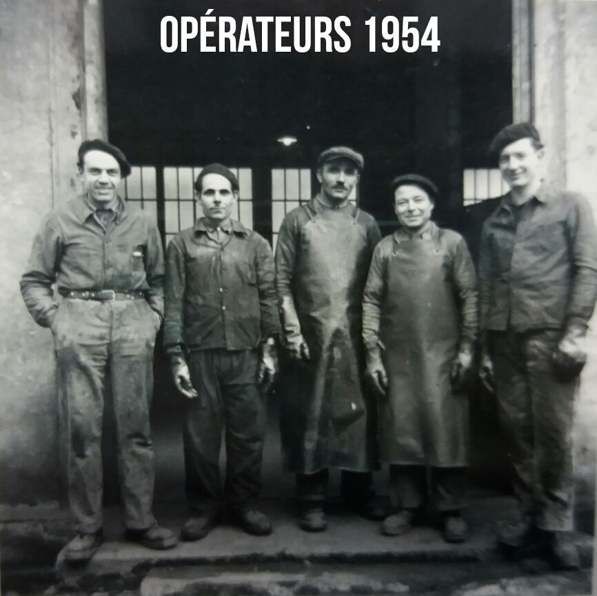 Opérateurs 1954