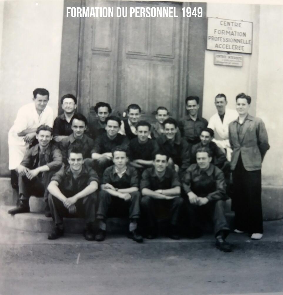 Formation du Personnel 1949