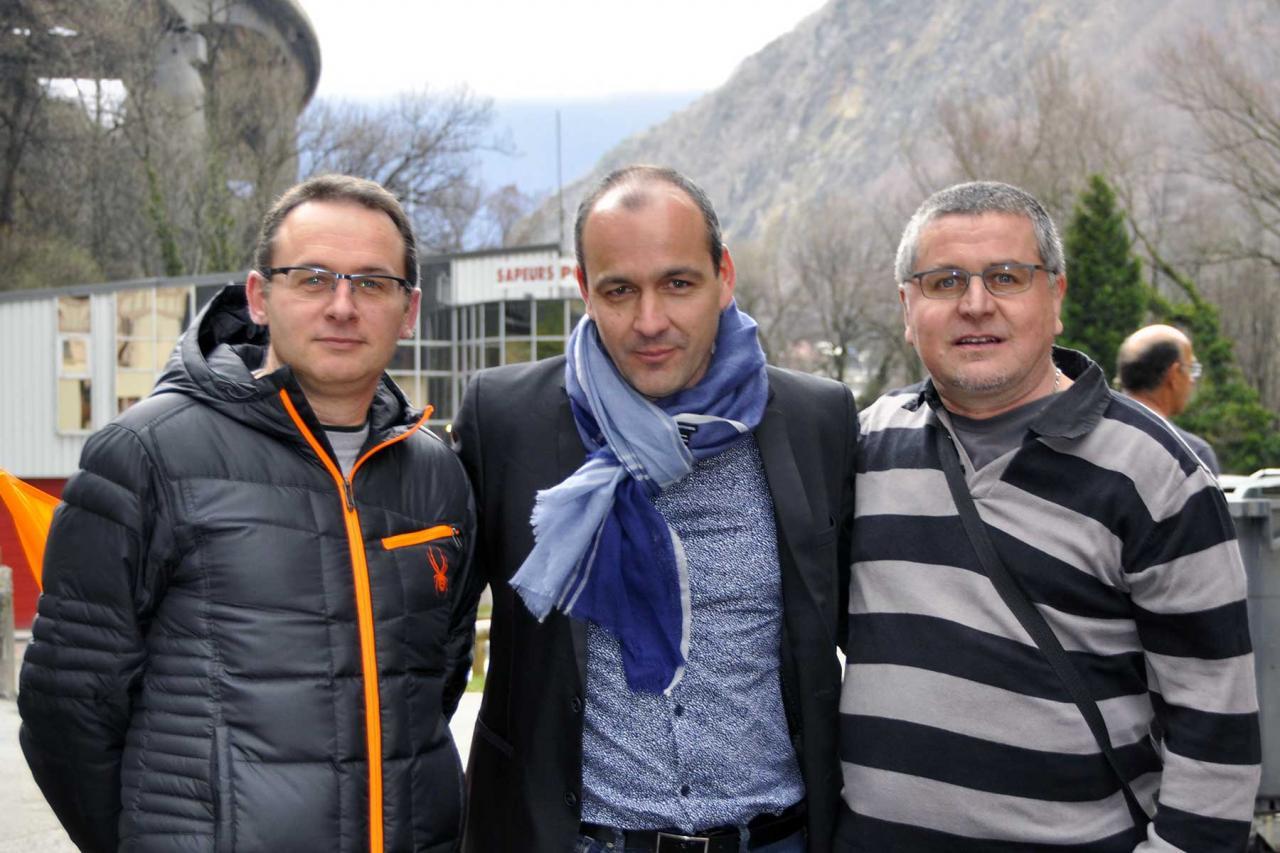 Laurent Berger à Carbone Savoie