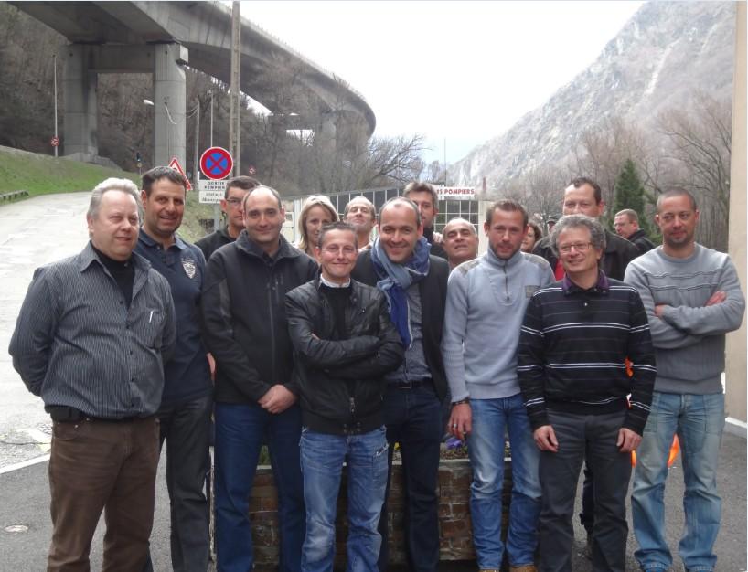Equipe CFDT Carbone Savoie